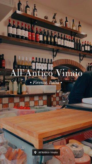 All'Antico Vinaio • Firenze, Italia •