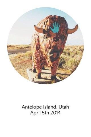 Antelope Island, Utah April 5th 2014