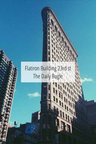 Flatiron Building 23rd st The Daily Bugle