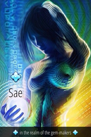 💠 Sae 💠 in the realm of the gem-makers 💠