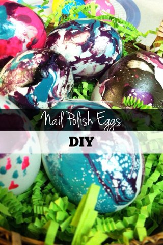 Nail Polish Eggs DIY