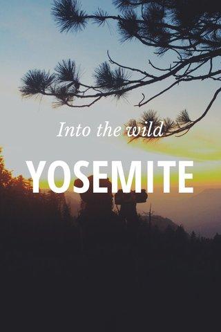 YOSEMITE Into the wild