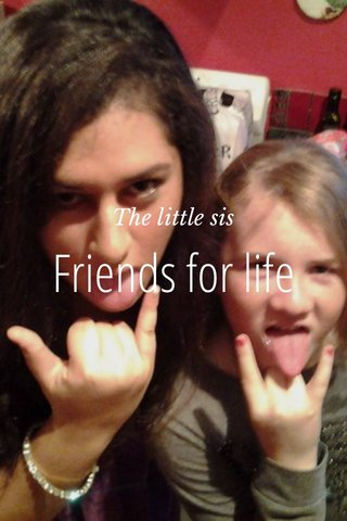 Friends for life The little sis