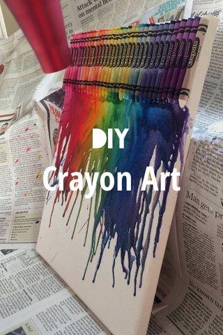 Crayon Art DIY