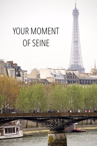YOUR MOMENT OF SEINE