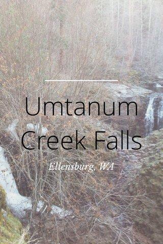Umtanum Creek Falls Ellensburg, WA