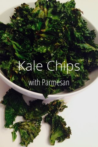 Kale Chips with Parmesan