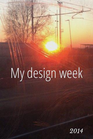 My design week 2014