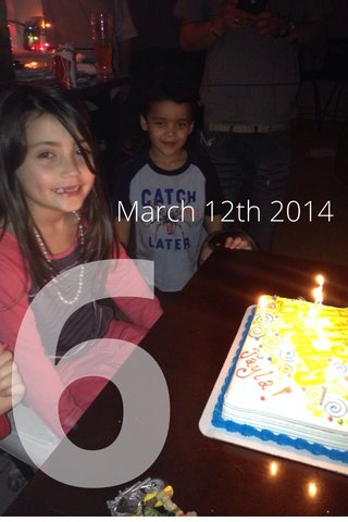 6 March 12th 2014