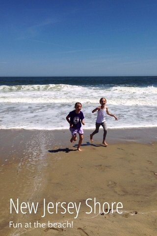 New Jersey Shore Fun at the beach!