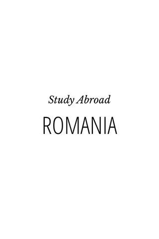 ROMANIA Study Abroad