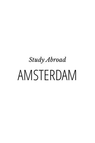 AMSTERDAM Study Abroad