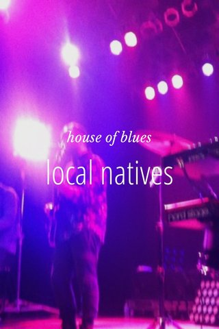 local natives house of blues