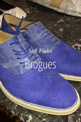 Brogues Soft Violet