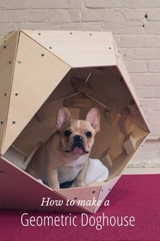 Geometric Doghouse How to make a