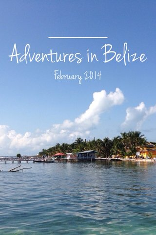 Adventures in Belize February 2014