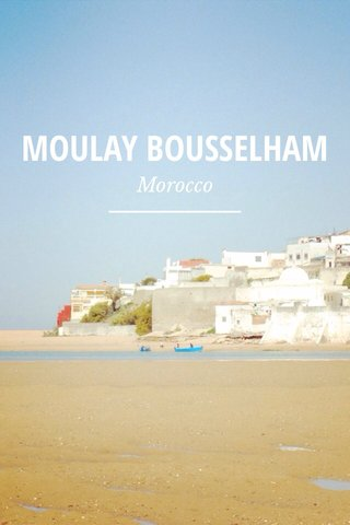 MOULAY BOUSSELHAM Morocco