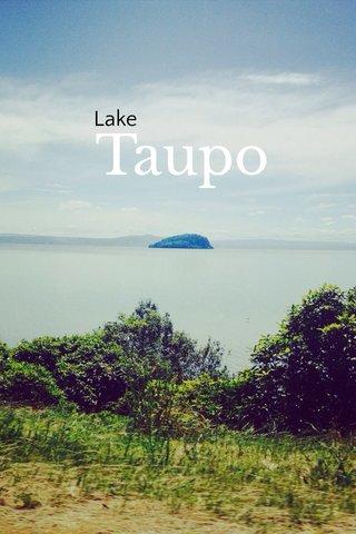 Taupo Lake