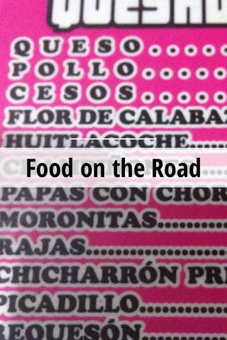 Food on the Road