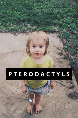 PTERODACTYLS
