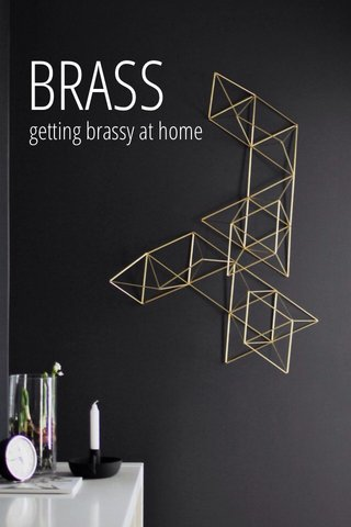 BRASS getting brassy at home