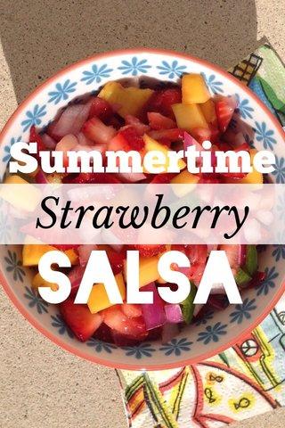 Salsa Summertime Strawberry