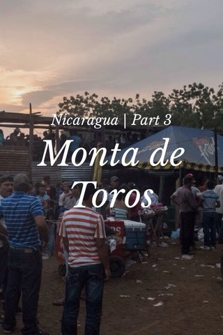 Monta de Toros Nicaragua | Part 3