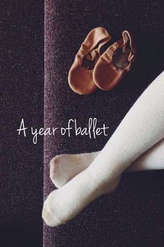 A year of ballet