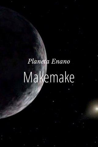 Makemake Planeta Enano