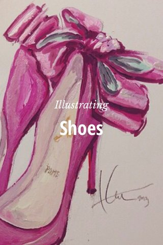 Shoes Illustrating