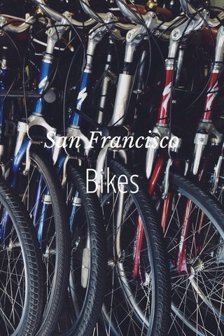 Bikes San Francisco