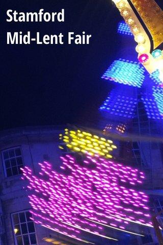 Stamford Mid-Lent Fair