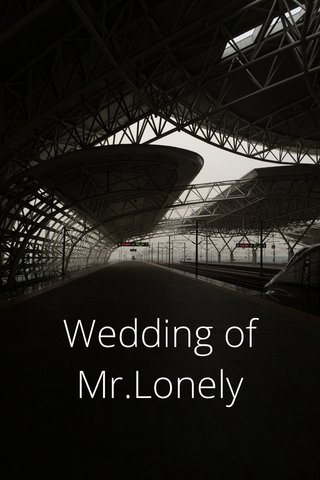 Wedding of Mr.Lonely