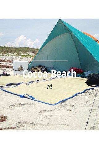 Cocoa Beach Fl