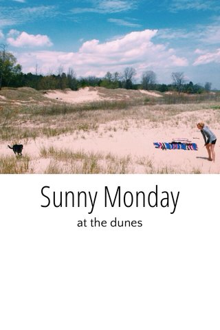 Sunny Monday at the dunes