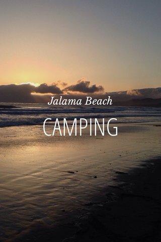 CAMPING Jalama Beach