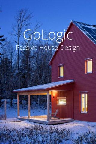 GoLogic Passive House Design --- Coastal Maine ---