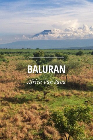 BALURAN Africa Van Java