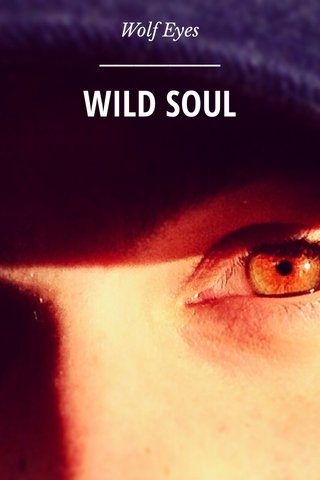 WILD SOUL Wolf Eyes