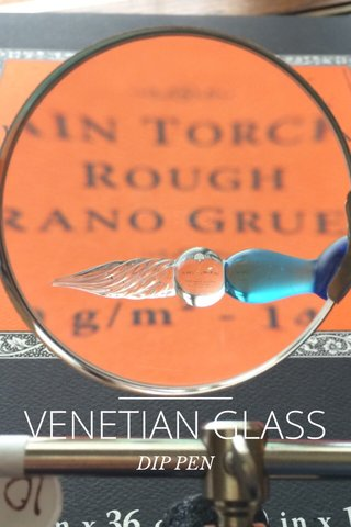 VENETIAN GLASS DIP PEN