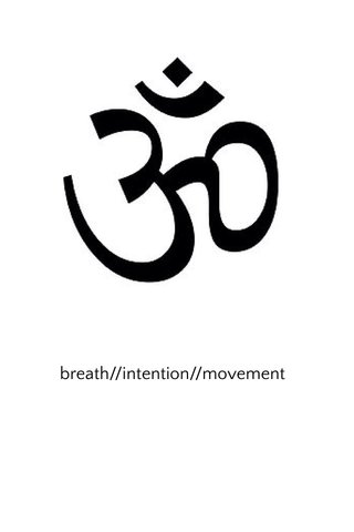 breath//intention//movement