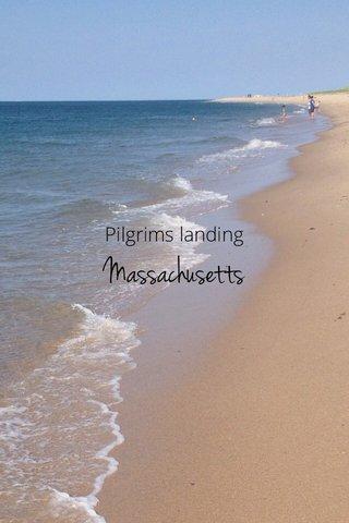 Massachusetts Pilgrims landing
