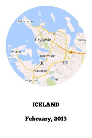 ICELAND February, 2013