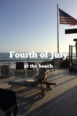 Fourth of July at the beach