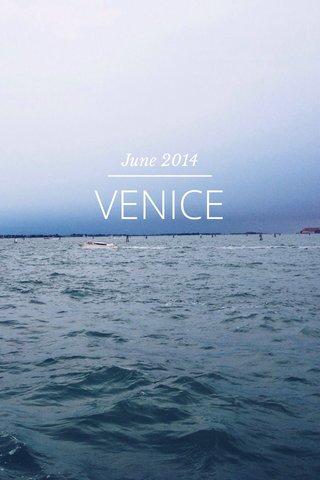 VENICE June 2014