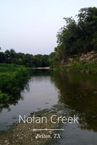 Nolan Creek Belton, TX