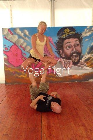 Yoga flight