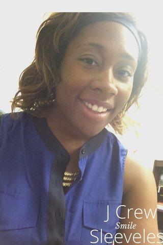 J Crew Sleeveless Smile