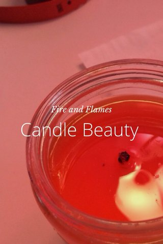 Candle Beauty Fire and Flames