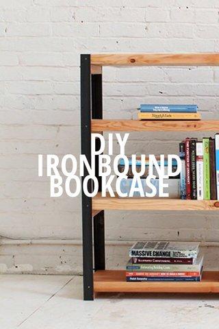 BOOKCASE IRONBOUND DIY